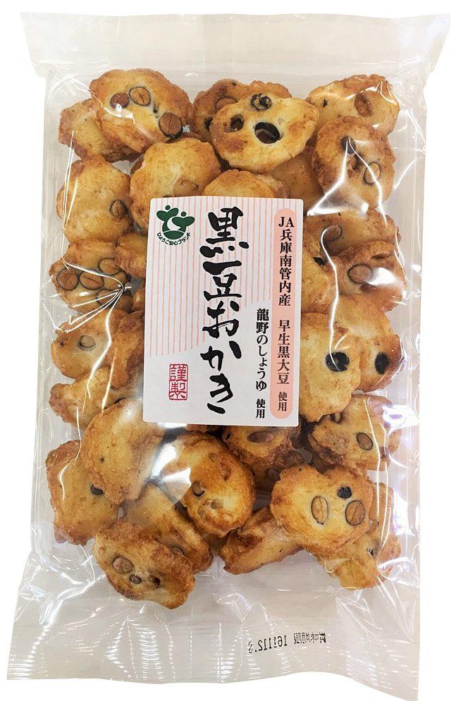 105g 黒豆おかき 醤油